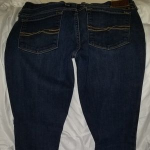 Super low skinny jeans